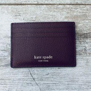 Kate spade CHERRYWOOD small slim card holder